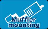 Muffler mounting