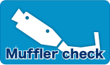 Sound test for mufflers / Fitting for mufflers