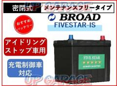 BROAD (broad) FIVESTAR IS N-55 / 75B24L Idling stop car correspondence battery With idling stop: 18 months or 30,000km warranty Normal car installation time: 36 months or 100,000 km