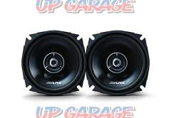 ALPINE (Alpine) 12cm coaxial 2way grade up speakers STE-G120C