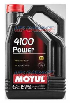 MOTUL 4100 POWER(4100 パワー)  15W50 4L 102449