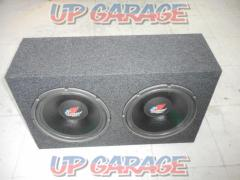 Lanzar Woofer with 12 inch 2 shot BOX