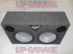 Ultimate Woofer with 10 inch 2 shot BOX + VX2100 2ch power amplifier set !!