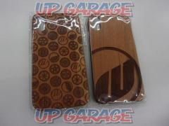 WORK iPhone WOOD CASE