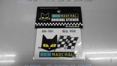 MARCHAL sticker Flag (small) 800-7001
