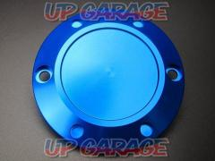 MINIMOTO Aluminum clutch cover (blue)