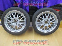 Unknown Manufacturer Mesh wheel + YOKOHAMA (Yokohama) BluEarth-A