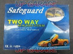 Safeguard TWO WAY CAR ALARM SYSTEM
