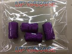 Valve cap Diamond type purple 4 pieces ¥ 499-