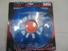 CARFU R Disc brake rotor Cover blue PCD100 / 114.3 4H / 5H Common General purpose Unused item 2 sheets