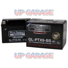 ProSelect GL-PTX9-BS gel battery YTX9-BS compatible