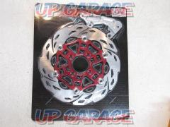 Optimum (Optimum) 260 type disk rotor (red / with support) [PCX125 (JF28) *Cannot be installed on vehicles after JF28-11