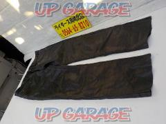 Unknown Manufacturer Leather pants (straight) Size: LL (waist / about 43 cm Inseam / about 71 cm)