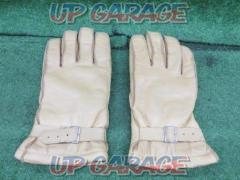 INDIAN (Indian) Leather Winter Gloves Camel LL size