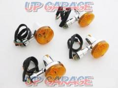 Mini blinker GS type Plating / Orange