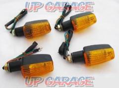 Mini blinker CB400SF type Black / Orange