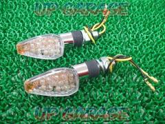 General purpose blinker Plated 14 LED Plating / Clear