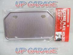 License plate base 50cc-125cc Mountain type Silver 830 yen (excluding tax)