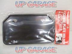 License plate base 50cc-125cc Mountain type black 830 yen (excluding tax)