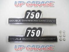 Side cover emblem 750 Pin type 2500 yen (excluding tax)