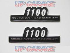 Side cover emblem 1100 Double-sided tape type 2500 yen (excluding tax)