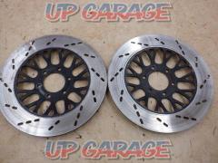 SUZUKI Genuine front brake disc rotor Left and right For double disc GSX400E