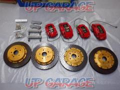 Brembo Caliper rotor kit front and rear set