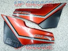 HONDA / Honda CBX250 Genuine side cover Right and left Red