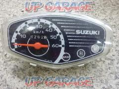 SUZUKI (Suzuki) Genuine speedometer Let's 4