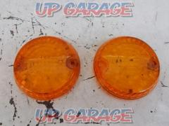KAWASAKI (Kawasaki) Genuine turn signal lens set of two Zephyr 1100