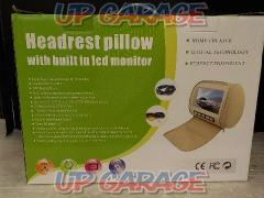 Unknown Manufacturer Headrest monitor