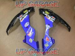 YAMAHA (Yamaha) Genuine under cowl (lower cowl) Right and left Blue / Black YZF-R1 (2004-2006 Unknown)