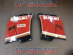 SUZUKI (Suzuki) Side cowl Right and left Black / Red GSX400R (GK71) Year Unknown