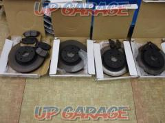 We price cut Front rotor + Rear rotor