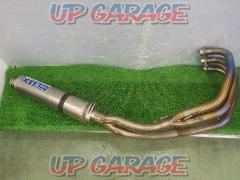 OVER RACING (Over Racing) Full titanium muffler X-4