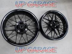 KAWASAKI Genuine Z 900 RS Cafe Set before and after Wheel Made ENKEI