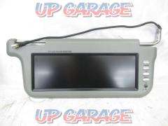 Unknown Manufacturer 10.2 inches visor monitor Gray Right and left