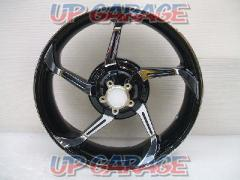 HARLEY-DAVIDSON (Harley Davidson) Aggressor rear wheel 18 inches Touring ('09 -) ※ CVO impossible Contrast Chrome