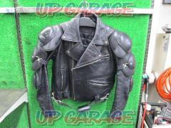 KADOYA (Kadoya) BATTLE-SUIT SHINYAREPLICA Leather jacket Unknown size (M rank)
