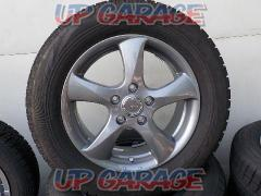 BRIDGESTONE (Bridgestone) TOP RUN 5-spoke wheel + BRIDGESTONE BLIZZAK VRX