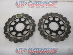 [Price Cuts] Wakeari GALFER Wayblotter 310 pie Right and left Used in CBR600RR (08)
