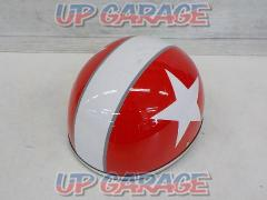 OGK (Aussie cable) PF-5 Half helmet For 125cc or less Size: Free (57-59cm)