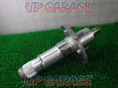 VFR750R Original rear hub shaft Silver