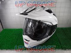 SHOEI HORNET ADV SEEKER white