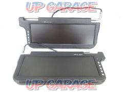 Unknown Manufacturer 12.2 inches visor monitor Right and left