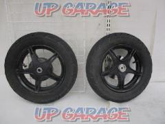 Price down YAMAHA Genuine front and rear wheel set Removed from JOG-ZR (SA39J)