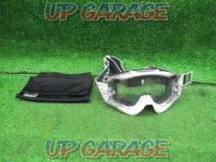 SWANS (Swans) RUSH-advance Off-road goggles White × Gray
