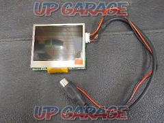 Unknown manufacturer (Unknown) 2.5 inch small monitor ※ There is the case radio waves interfere with the Tamechi digital and GPS, etc. of overseas products