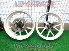 Stock disposal !! Special price !! GSX-R1000 (K5-K8) Marchesini (Marchesini) M10R Corse Magnesium forged wheel front and back SET
