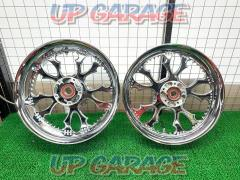 OVER (Over) RHYTHM wheel Set before and after GSX1300R Peregrine falcon